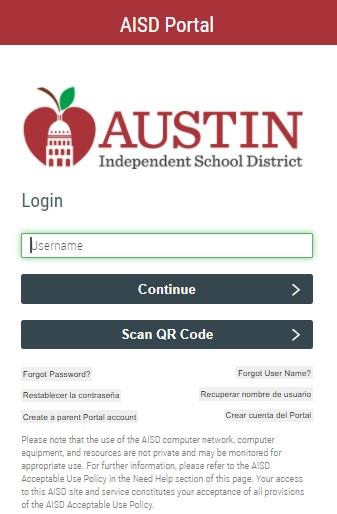 Austin ISD Portal