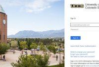 access the UCCS student portal