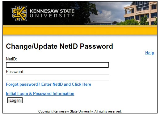 Changing your NetID password Owl Express