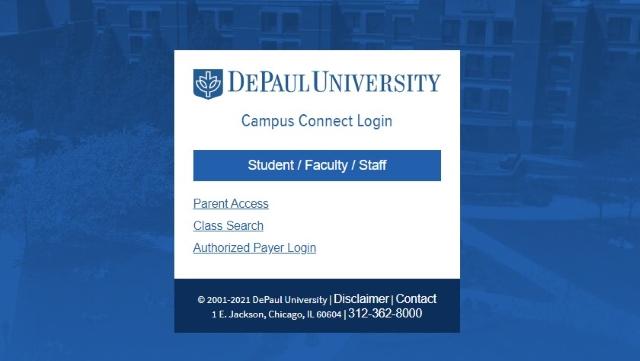 D2L DePaul Campus Connect