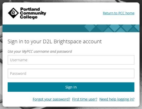 Login Portal Portland Community College