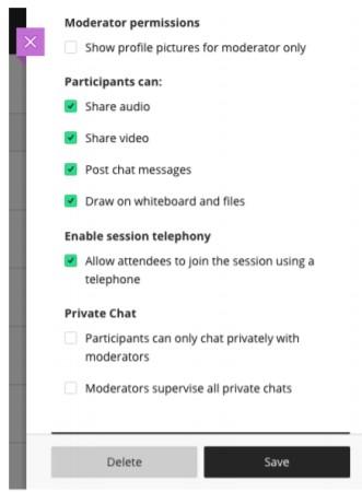Participants can