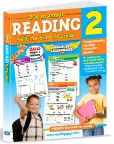 200 Essential Reading Skills for Second Grade