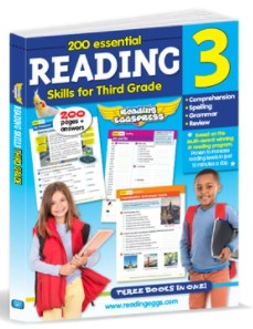 200 Essential Reading Skills for Third Grade