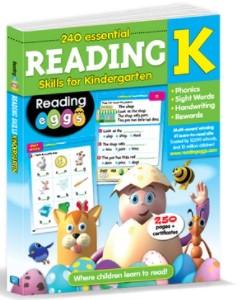 240 Essential Reading Skills for Kindergarten
