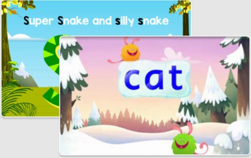 Fast Phonics includes dozens of animated videos.