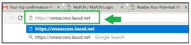 How to Enter Application URL and What is Landing Page