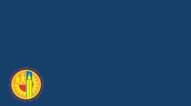 LA Unified Logo Background