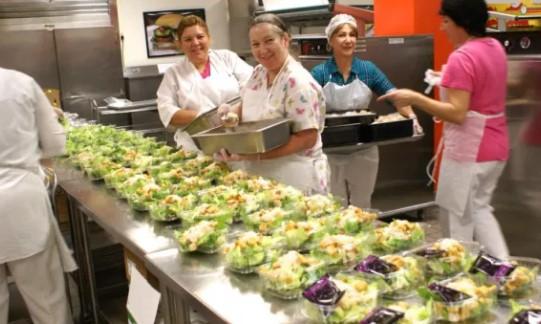 LAUSD Cafeteria Jobs