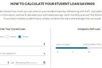 SoFi Student Loan Refinance Calculator