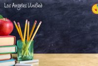 The LAUSD Chalkboard Background