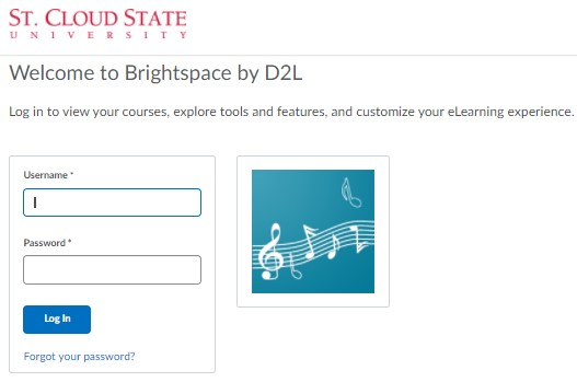 To login to SCSU D2L by using non-StarID