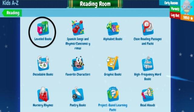 choose Leveled Books