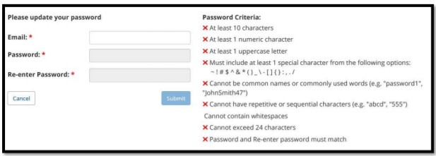 enter your Email and Password.