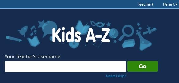 enter your teacher's username