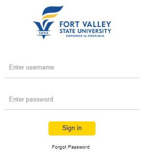login to FVSU D2L