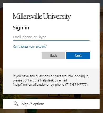 taken to the D2L Brightspace login page