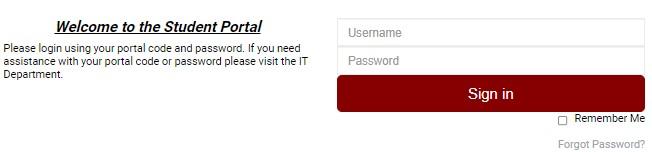 ACIT Student Portal