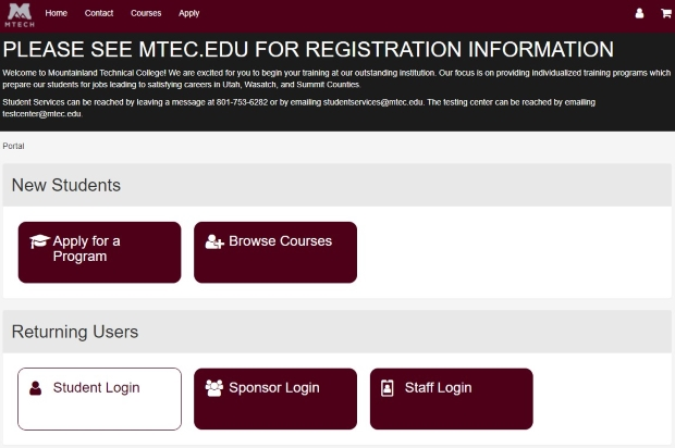 Mtech Student Portal