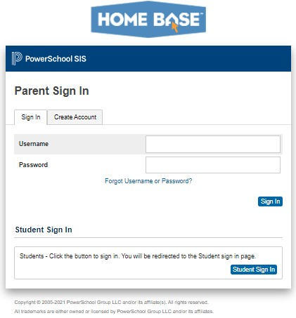PowerSchool CMS parent sign in