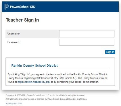 PowerSchool RCSD Teacher Portal