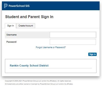 PowerSchool RCSD student portal