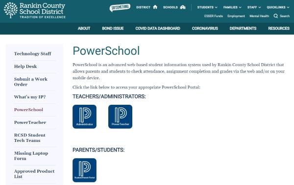 PowerSchool RCSD1