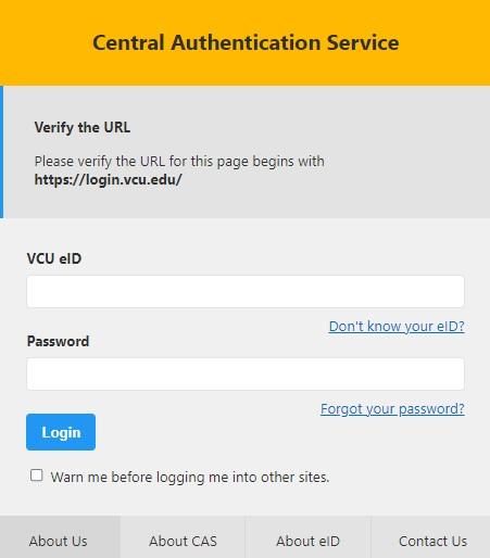 VCU Student Health Portal