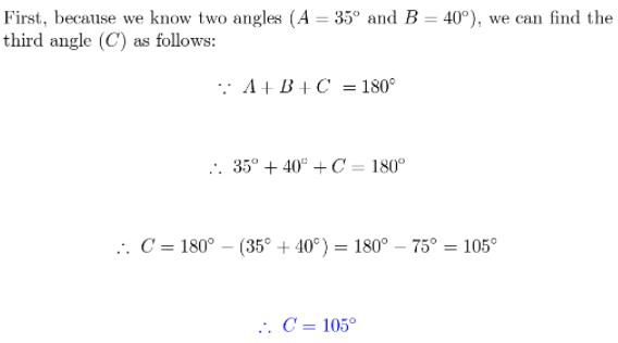 Chapter 6Additional Topics in Trigonometry Answers 3