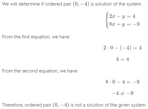 Chapter 7 Systems of Equations and Inequalities Answers 1