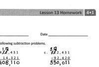 Lesson 13 Homework 4.1 Answer Key