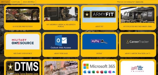 My Medpros Medical Readiness Portal menu