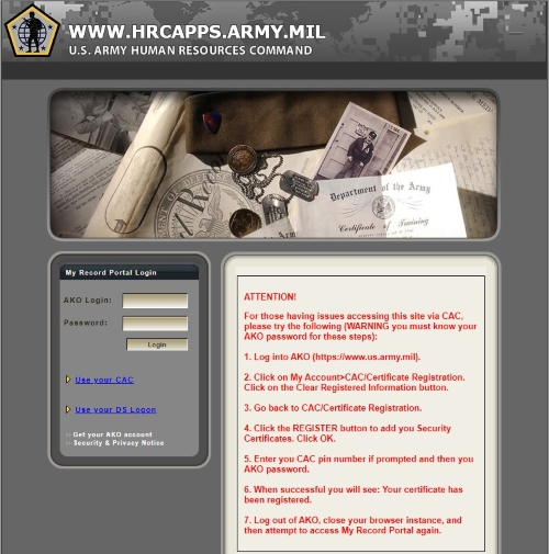 Soldier Access to iPERMS