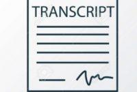 UTSA Transcript Request Form